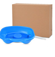 Portable Shampoo Basin for The Disabled Bedridden Neck Rest Hair Washing Basin Bowl Sink Drain Tube Handicap Bed Rest Aid