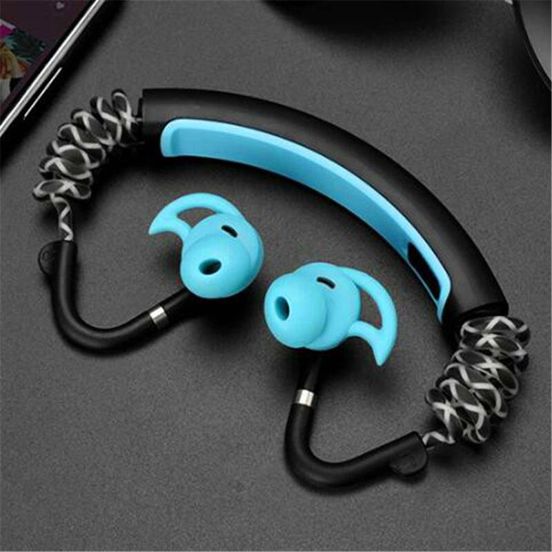 Bande de cou Bluetooth Extra basse Bluetooth casque sans fil sur l'oreille Bt écouteurs stéréo Fitness écouteur étanche - 6