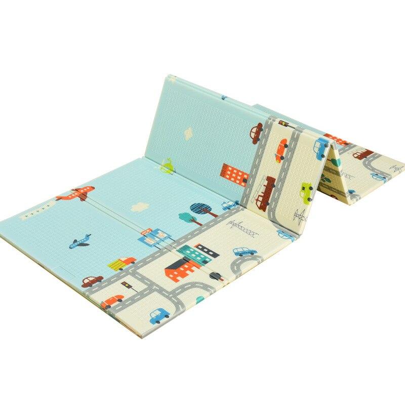 Tapis de jeu bébé Xpe Puzzle 200x180 cm mousse tapis pour enfants épaissi jouets Tapete Infantil enfants ramper tapis développement tapis - 3