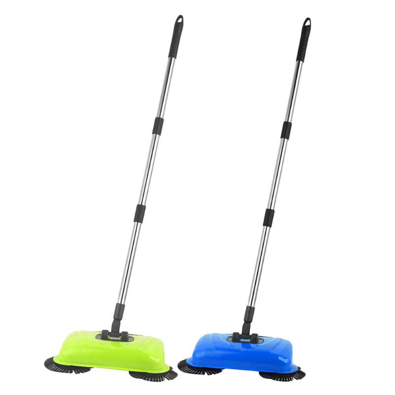 Hand Push Sweeper Mophead Stainless Steel Hand Push Handle Sweeper Household Cleaner Sweep MachineHand Push Sweeper Mophead Stainless Steel Hand Push Handle Sweeper Household Cleaner Sweep Machine