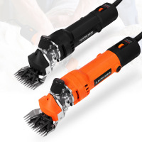 EU Plug Electric Sheep Pet Hair Clipper Shearing Kit Shear Wool Cut Goat Pet Animal Shearing Supplies Farm Cut Machine