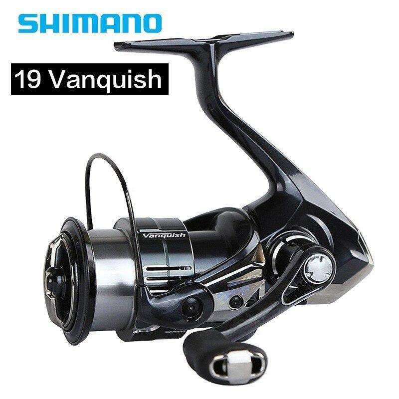 19 New 100% Original Shimano Vanquish 1000-5000 Spinning Fishing Reel Lightweight Body 155g 11+1bb Saltwate Reel Made In Japan