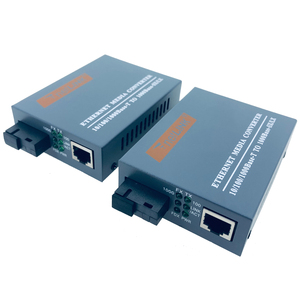 Image 5 - HTB GS 03 أ & B 3 أزواج ألياف جيجابت محول وسائط بصرية 1000Mbps وضع واحد واحد الألياف SC ميناء امدادات الطاقة الخارجية