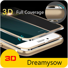 3D Curved Round Edge Full Protection Glass Film For iPhone 11 Pro Max 8 7 6 6S Plus X XS Max XR 7Plus 9H Screen Protective Glass cheap NFie Tempered Glass CN(Origin) Front Film Apple iPhone