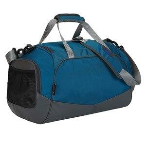 Image 3 - Sac à main imperméable 40l, sac pour gymnastique, sec et humide séparé, simple sac à bandoulière pour les entraînements, sac de voyage