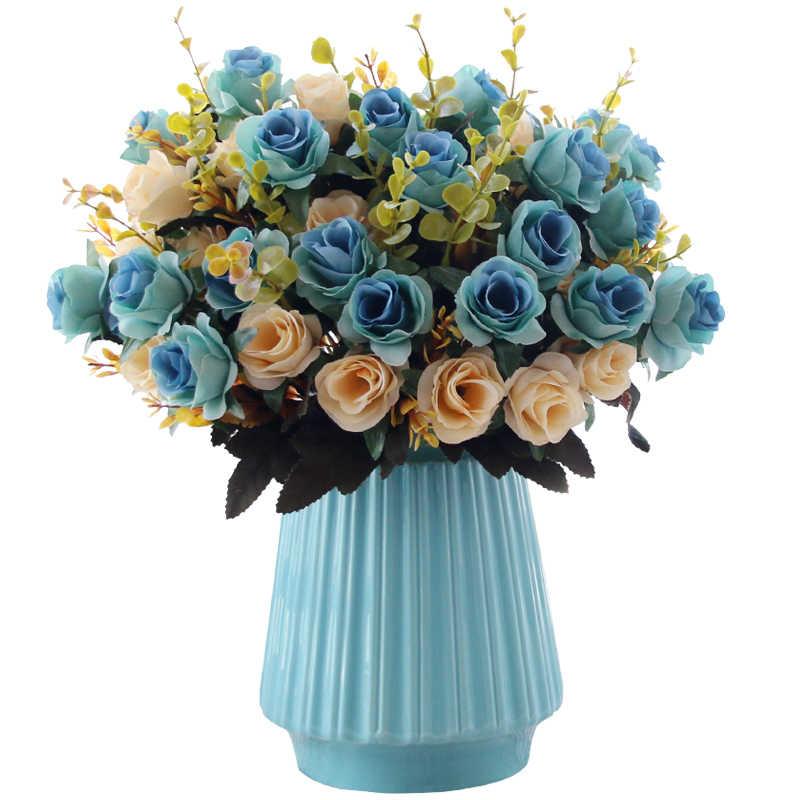Cam Fanous Ceramica Jarron Teraryum Accessoires De Décoration De Maison Moderne Vaso De Flor Jarrones Decorativos Moderno Fleur Vase