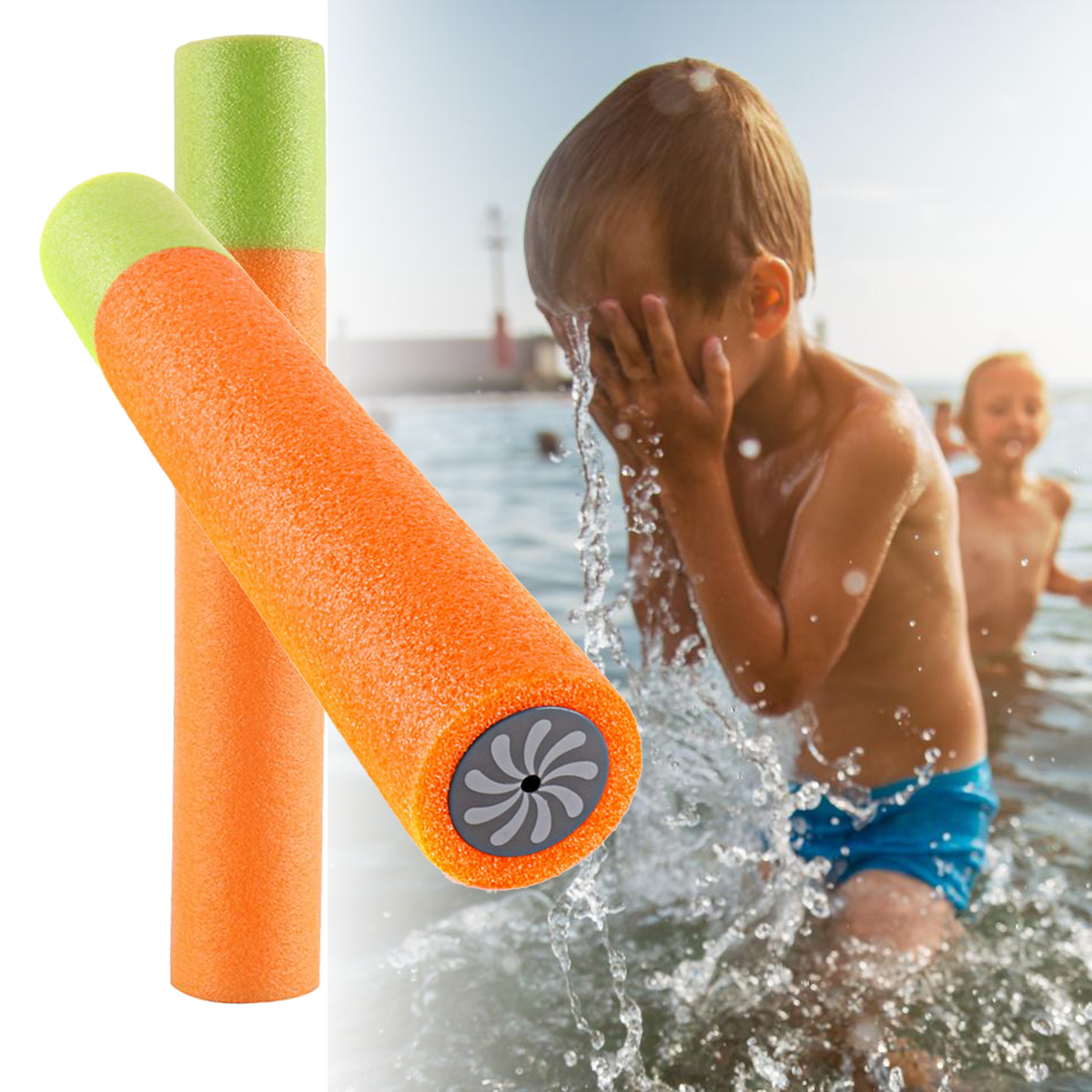 Summer Children Pulling Type Water Blaster EVA Water Shooters Outdoor Games Toys Water Swimming Pool Fun Toy Adults