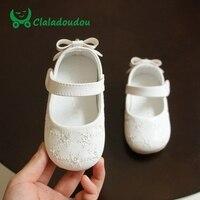 c0d6d2fc6 Baby Girls Dress Shoes Soft Bottom Bowknot Cute Princess Shoes PU Leather  Korean Baby Girl Footwear. Bebé niñas Zapatos de fondo suave ...