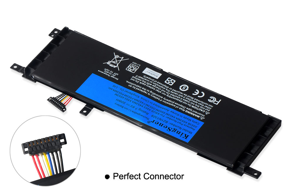 Image 5 - KingSener B21N1329 Laptop Battery for ASUS D553M F453 F453MA F553M P553 P553MA X453 X453MA X553 X553M X553B X553MA X403M X503M-in Laptop Batteries from Computer & Office
