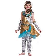 Костюм для мамы Клеопатра; детей; косплея зомби; на Хэллоуин
