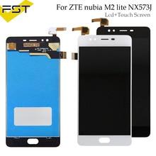 Для ZTE Nubia m2 Lite NX573J ЖК-дисплей Дисплей и Сенсорный экран аксессуары для телефона в сборе для ZTE Nubia m2 Lite + инструменты и клей