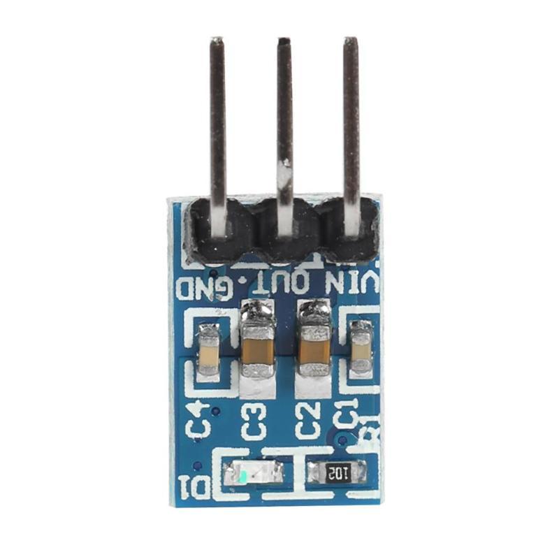 AMS1117-3.3 Voltage Regulator LDO 800mA 5V To 3.3V Step-Down Power Supply Module  3Pin Power Supply Board