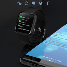 Waterproof Bluetooth Smart Watch with Full Screen Touch