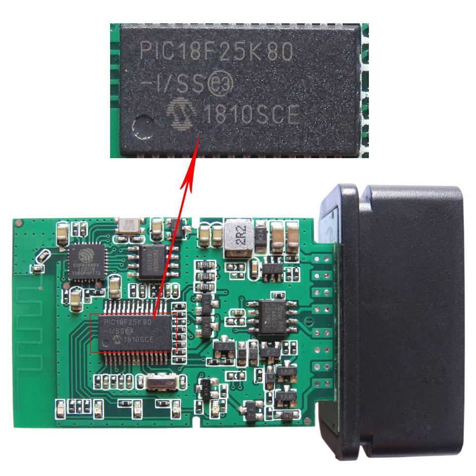 Super PIC18F25K80 ELM327 WIFI V1 5 OBD2 Car Diagnostic Scanner Best Elm327 WI FI Mini ELM Super PIC18F25K80 ELM327 WIFI V1.5 OBD2 Car Diagnostic Scanner Best Elm327 WI-FI Mini ELM 327 V 1.5 OBDII iOS Diagnostic Tool