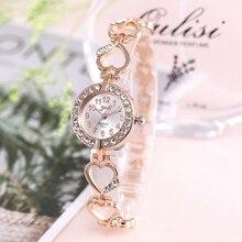 Брендовые роскошные часы с браслетом женские часы из розового золота Женские часы с бриллиантами Женские часы Relogio Feminino Reloj Mujer