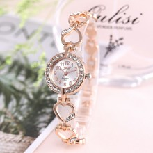 2020 Brand Luxury Bracelet Watch Women Watches Rose Gold Wom