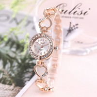 2020 marque de luxe Bracelet montre femmes montres or Rose femmes montres diamant dames montre horloge Relogio Feminino Reloj Mujer
