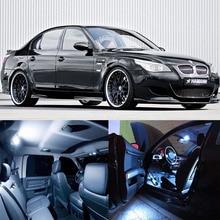 JX-LCLYL 21 шт. салона белый светодиодный светильник лампы комплект для BMW 5 серии M5 E60 E61 04-10