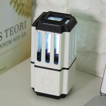 LED UV Sanitizer Lamp Portable Air Purifier Sterilizer Light For Ozone Disinfection Kill Bacterial