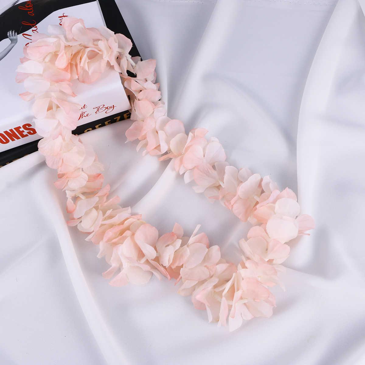 1 м искусственные растения с цветами гирлянды дом гостиница офис Свадьба День рождения Гавайи вечерние Сад Craft искусства украшения