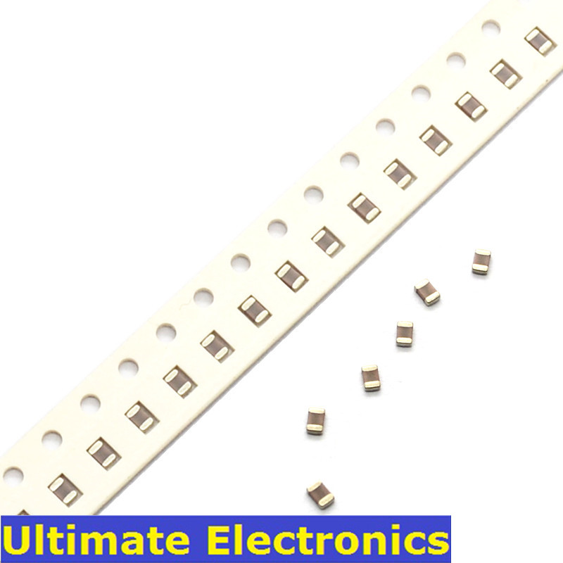 100Pcs/Lot 0805 SMD Chip Multilayer Ceramic Capacitor 0.5pF~10uF 10pF 1nF 10nF 100nF 0.1uF 1uF 2.2uF 4.7uF MLCC Chip Capacitor