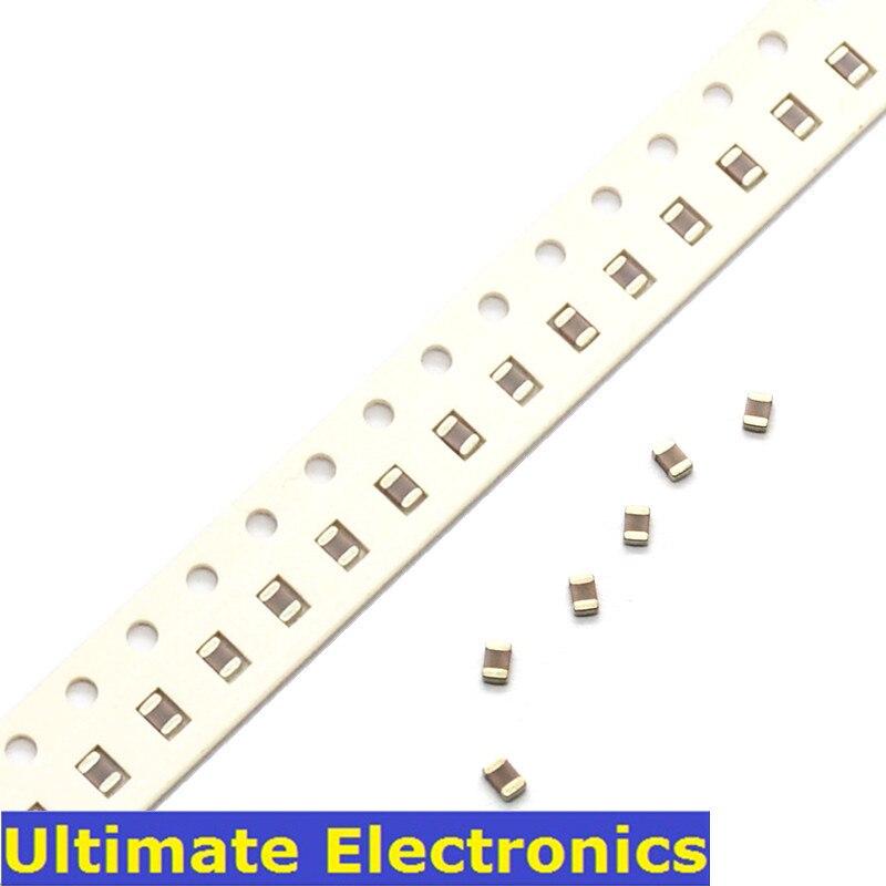 100 шт./лот 0805 SMD бескорпусный многослойный керамический конденсатор поверхностного монтажа 0.5pF ~ 10 мкФ 10pF 1nF 10nF 100nF 0,1 мкФ 1 мкФ 2,2 мкФ 4,7 мкФ мног...