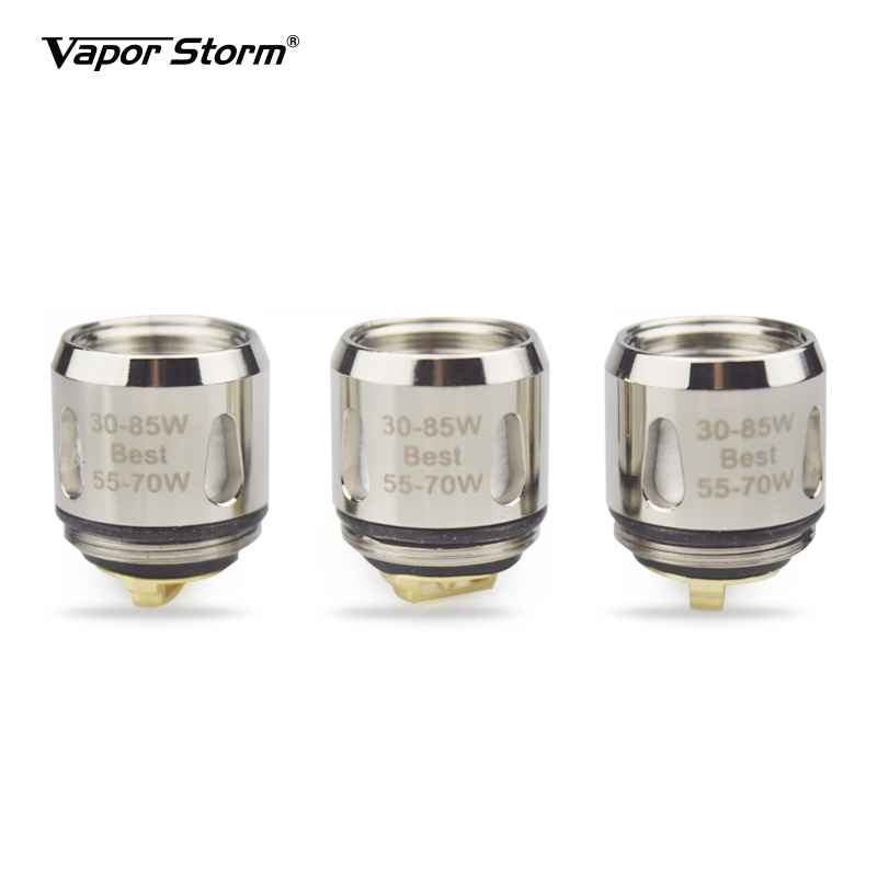 Vapor Storm Hawk Tank Coils for TFV8 Baby Atomizer and Hawk 0.2ohm Mesh Coil 0.5ohm BVC Heating Wires Vape Accessories 3pcs/Pack