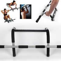 Barre horizontale de porte en acier 110 kg réglable d'entraînement de gymnastique à la maison d'entraînement d'entraînement d'entraînement d'entraînement de Sport de forme physique Sit-ups équipements HWC