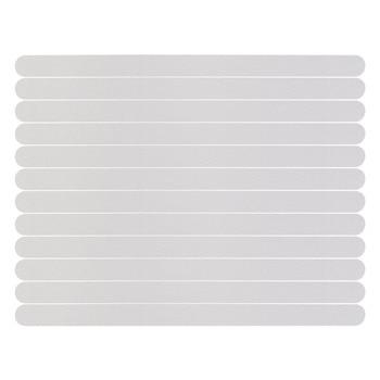 12 Pieces Anti-slip Strips Shower Stickers Bath Safety Strips Transparent Non Slip Strips Stickers for Bathtubs Showers
