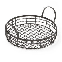 Durable Multifunctional Bread Basket Kitchen Fruits Storage Draining Basket With Handle