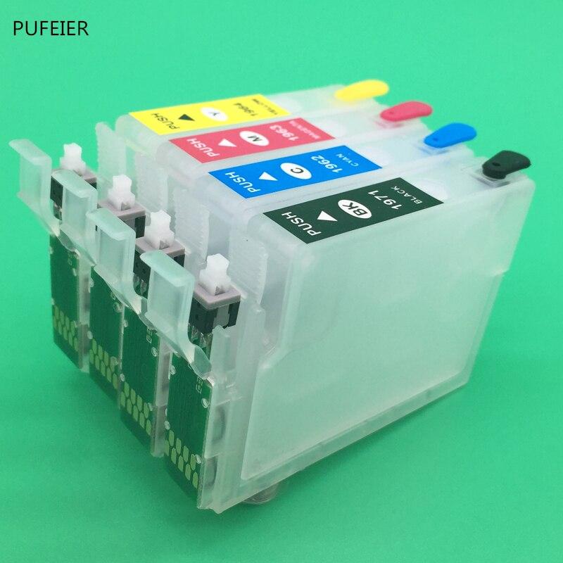 Задний картридж с кнопкой сброса для Epson