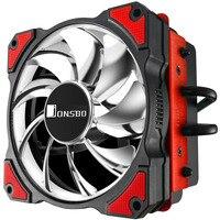 Jonsbo Cr 101 4 Heat Pipe Down Pressure Cpu Radiator 12Cm Silent Fans Pwm Intelligent Temperature Control Cpu Cooler For Intel