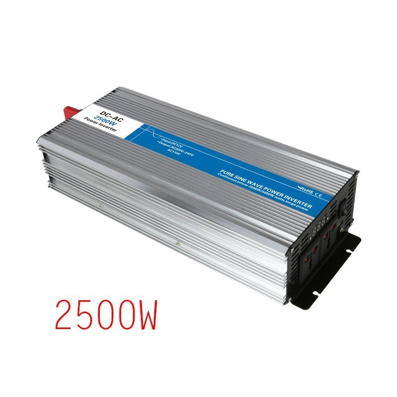 2500W Inverter Eight Protection Power Supply Inverter Vehicle Inverter Power Supply2500W Inverter Eight Protection Power Supply Inverter Vehicle Inverter Power Supply