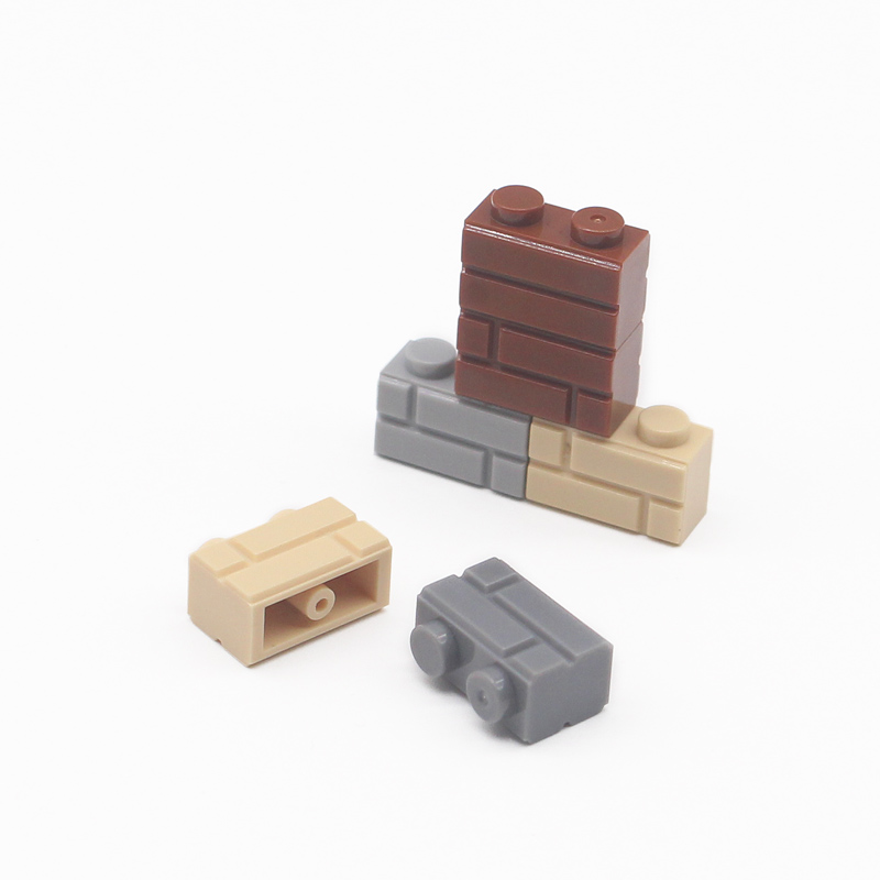 My city 1x2 bricks 98283 Houses Building blocks compatible Learning Classic house DIY wall MOC Educational Toy