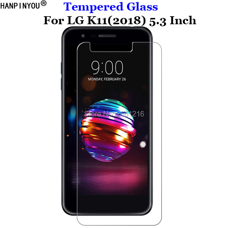 For LG K11 (2018) Tempered Glass 9H 2.5D Premium Screen Protector Film For LG K 11 5.3""