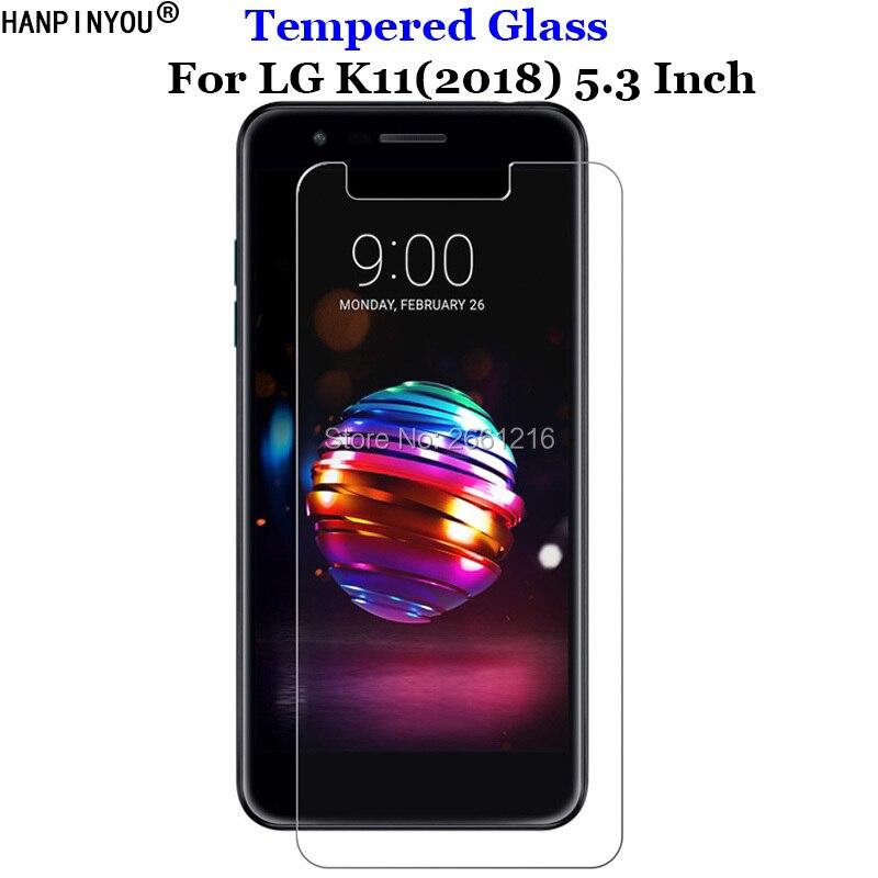 Para LG K11 (2018), de vidrio templado 9H 2.5D protector de pantalla Premium Film para LG K 11 5,3
