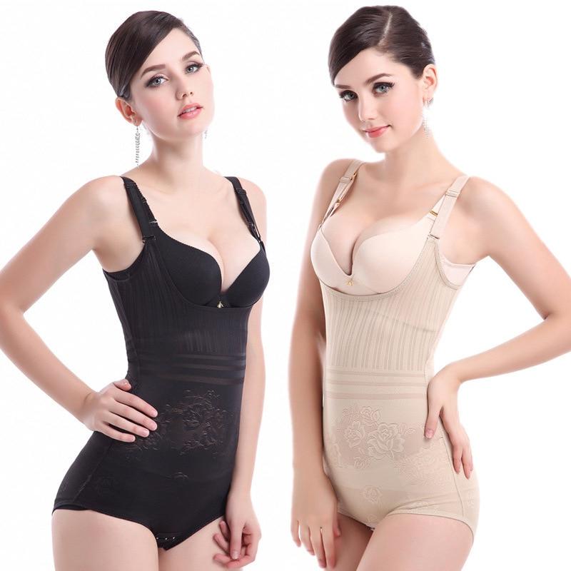 Manufacturer Women sexy adjustable Body Seamless Shapewear Bodysuit Firm Control leotard shaperwear slimiming shaper corset