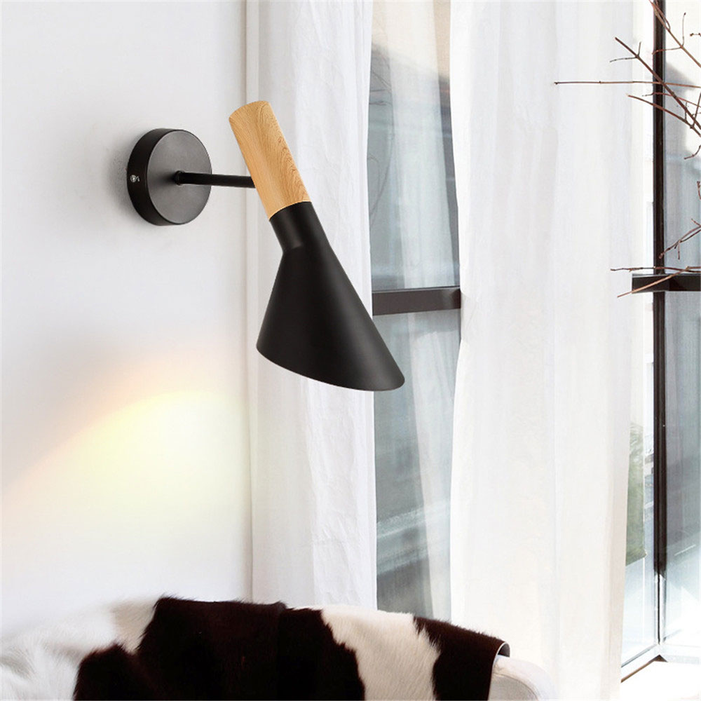 Loft industrial style american-style creative bedroom bedside living room wall lamp Nordic modern simple aisle wall lampLoft industrial style american-style creative bedroom bedside living room wall lamp Nordic modern simple aisle wall lamp