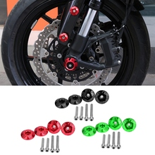 Motorcycle Front Fender Frame Slider Screw Bolt Fork Protector for YAMAHA NMAX 155 125 Motorcycle Accessories New