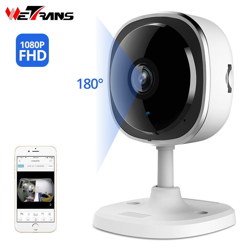 Wetrans Mini Camera Wifi 1080p Ip-Cam Wide-Angle Night-Vision Security Home Wireless