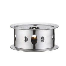 Термостойкий чайник, грелка, кофейники из нержавеющей стали, круглая основа, портативный держатель для чайника, аксессуары для чая