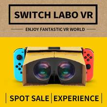 For 3D Glasses for VR Box Movies Game Virtual Reality Glasses for SWITCH VR glasses For Zelda for Odyssey games(China)