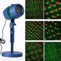 IKVVT Новый Лазерный Свет Проекция Открытый сад лазерный проектор движущийся свет Рождество
