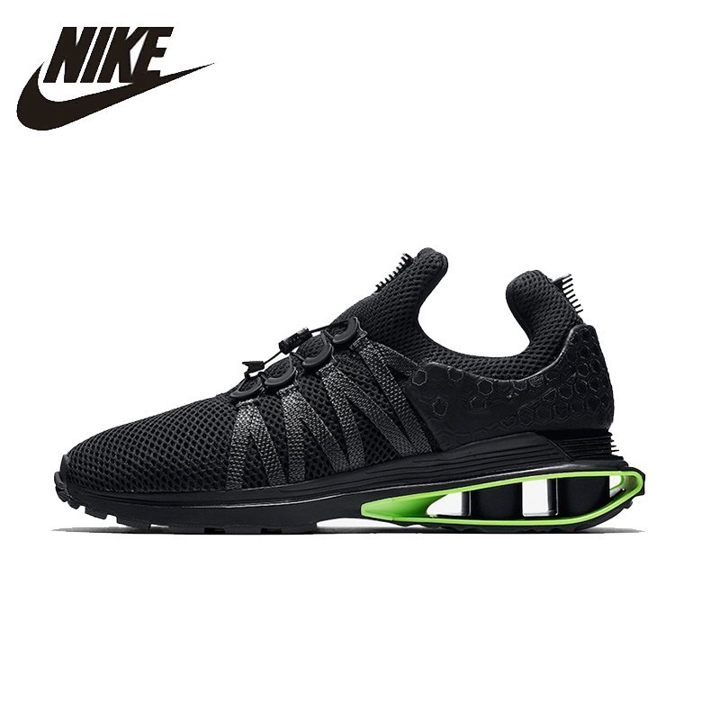 82ab6ce3aa8d51 NIKE SHOX GRAVITY Original New Arrival Running Shoes Breathable Comfortable  Support Sports For Mens and Womens