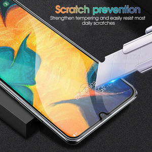 Image 5 - 9D Curved Tempered Glass For Samsung Galaxy A10 A20 A30 A40 A50 A60 Protective Film on A 10 20 30 40 50 60 Screen Protector glas