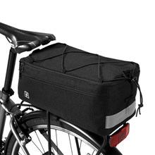 Multi Function Cycling Insulated Trunk Cooler Bag Bicycle Bike Rear Seat Bag Luggage Rack Pannier Bag(China)
