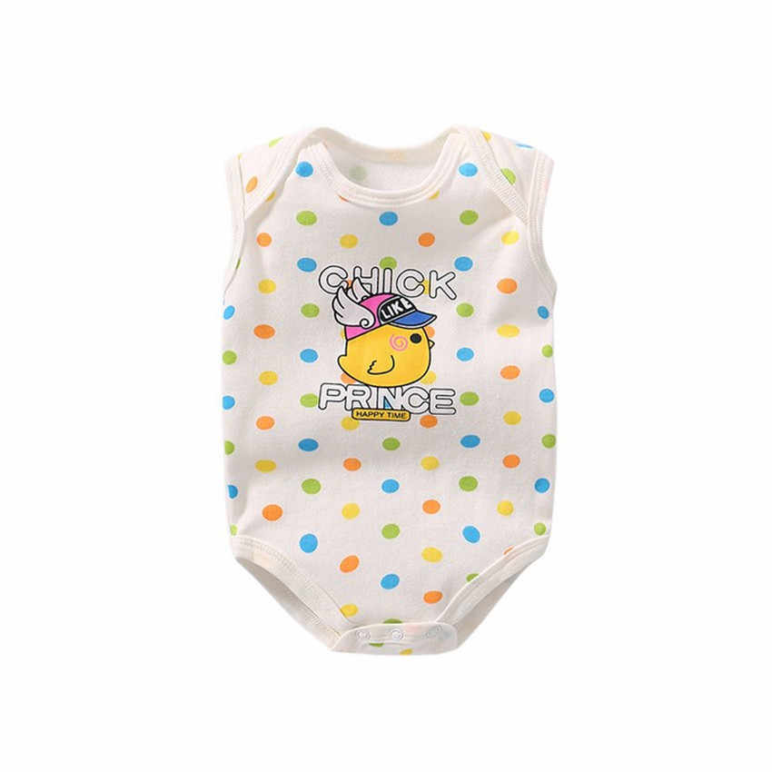 4f9de565e ... 2018 New Born Baby Clothes Summer Sleeveless Onesies Bodysuit Clothing for  Baby Girls&Boys Cotton Unisex Children's ...