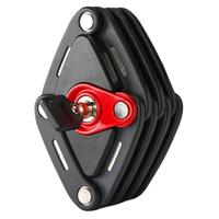 New Foldable Bike Lock With 2 Keys Strong Security Anti Theft Bicycle Lock Alloy Mount Bracket Mountain Road Bike Lock