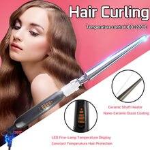 65W 110V-240V Curling Iron Hair Curler 21-30MM Professional