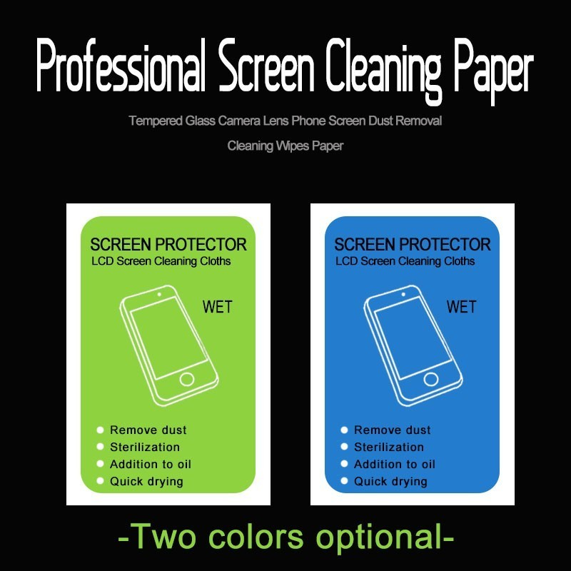 50Pcs Wet Alcohol Package Clean Screen Paper Film Laptop Computer LCD Screen Digital Camera Lens Special-purpose Clean Wet Wipes